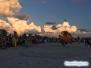 Kolorowe chmury na Drum Circle