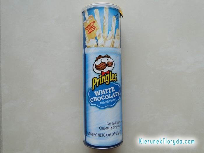 Pringles biała czekolada