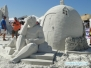 Rzeźby z piasku na Siesta Key Beach
