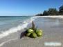 Spacer po plaży Siesta Key Beach