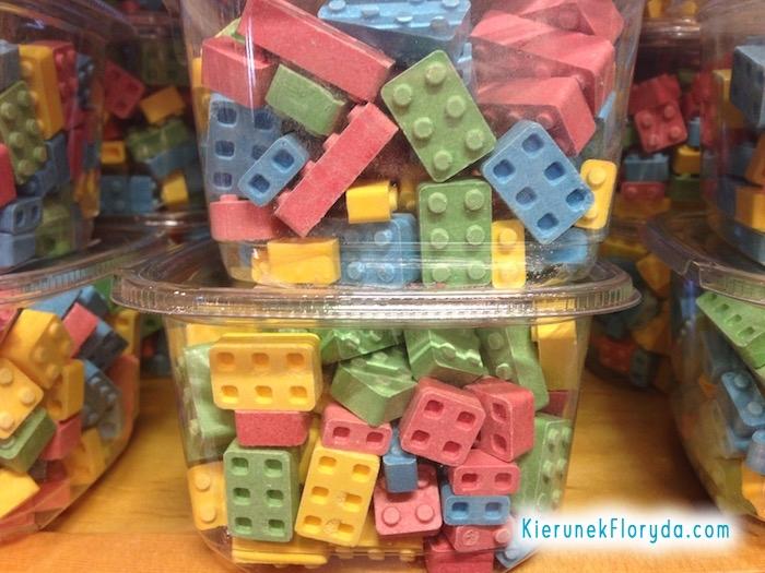 Cukierki klocki LEGO