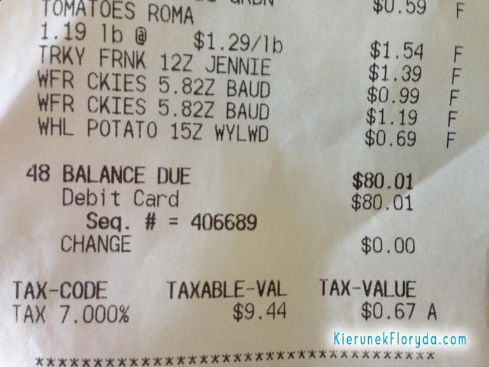 Podatek w sklepach