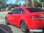 Samochód renifer