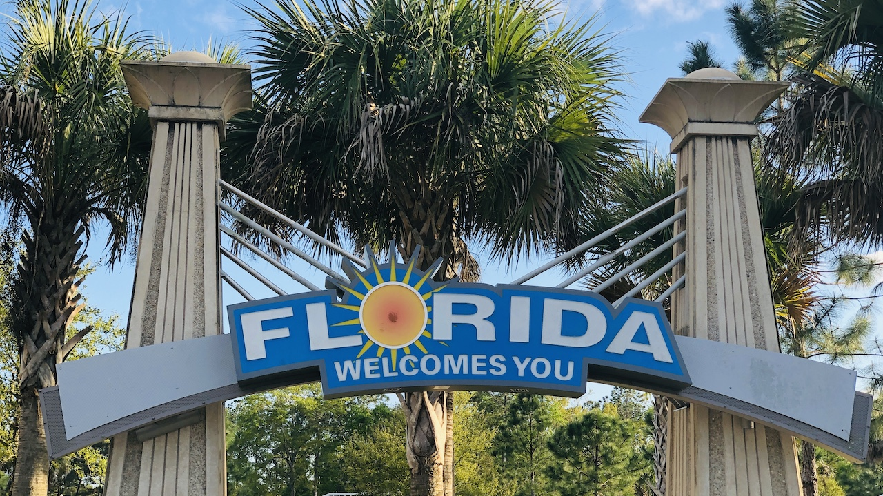 Floryda Cię wita